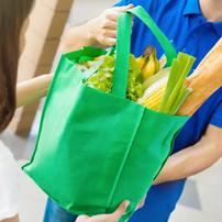 Adopte bolsas reutilizables